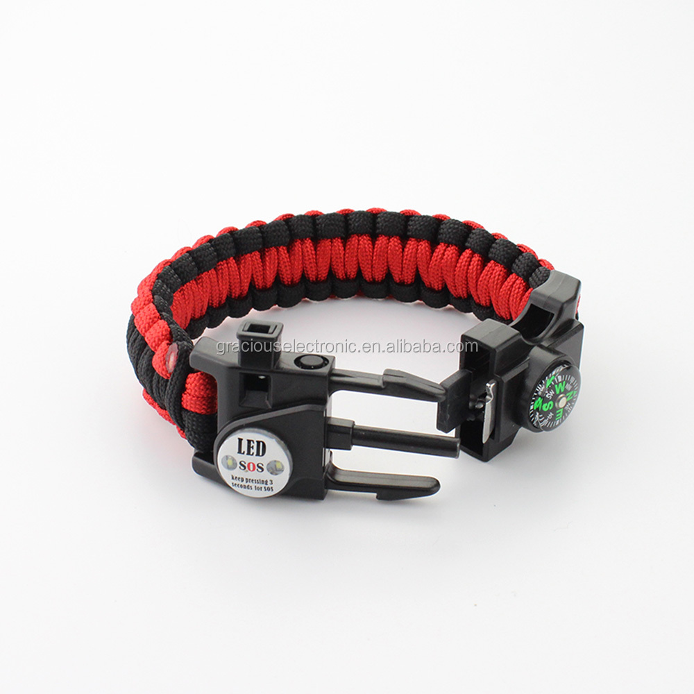 Hot Sale Survival Paracord Bracelet Manufacture Multi Tool Survival  Bracelet - Buy Multi Tool Survival Bracelet,Multi Tool Survival  Bracelet,Multi