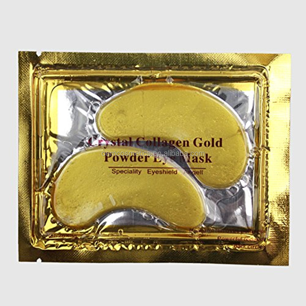 Korea Private Label 24k Gold Collagen Eye mask