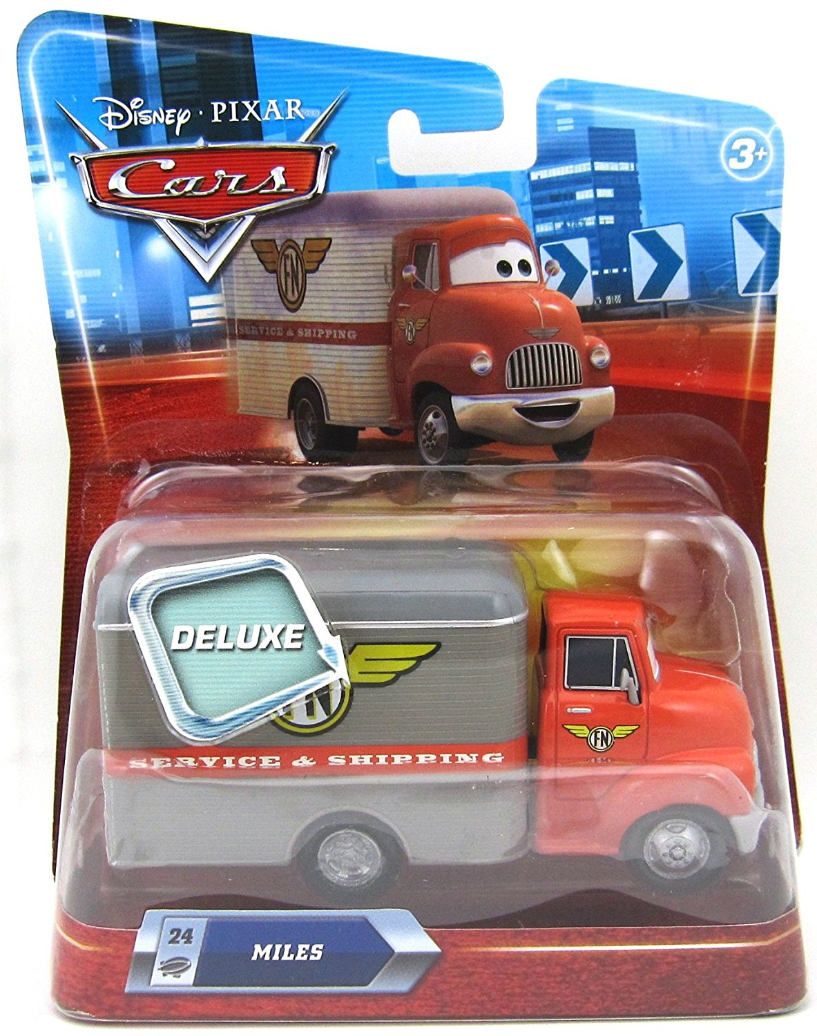 Disney / Pixar CARS Movie 155 Die Cast Car Oversized Vehicle Miles Meat Truck
