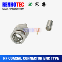 rf coaxial BNC cable rg11 BNC connector
