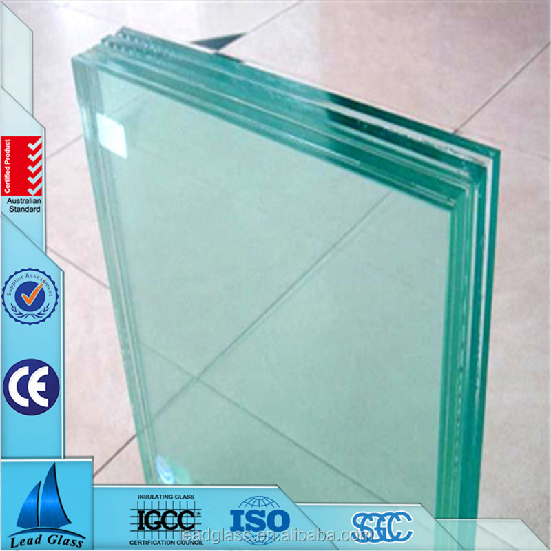 8mm-15mm 2 hour 3 hour Fire Rated Window Glass