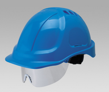 CE EN397 and ANSI safety helmet with safety goggle/safety glasses