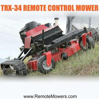 Remote Control Robot Lawn Mower Trx-34