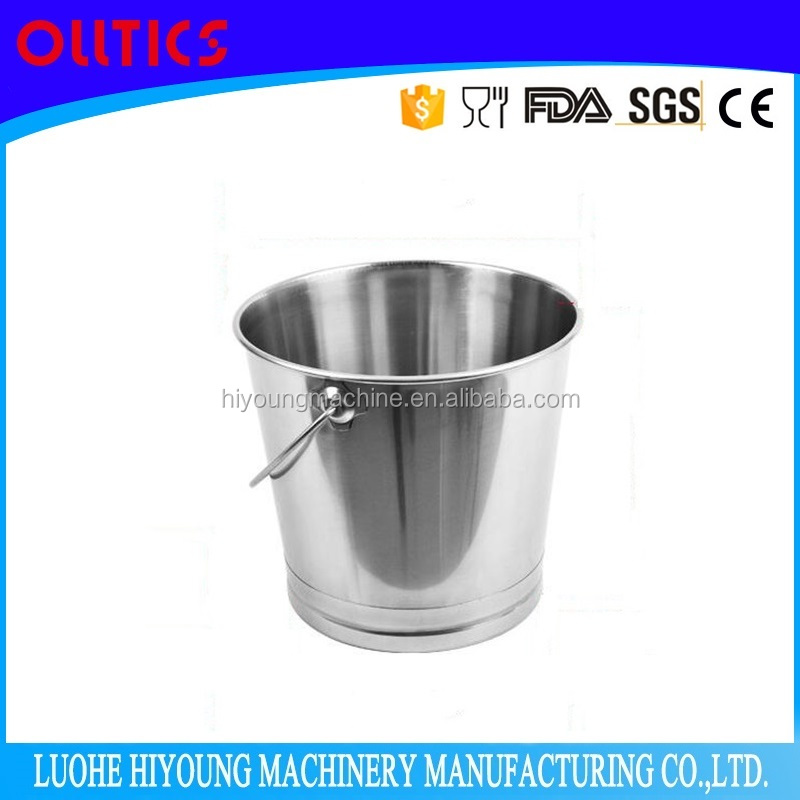 stainless steel water bucket