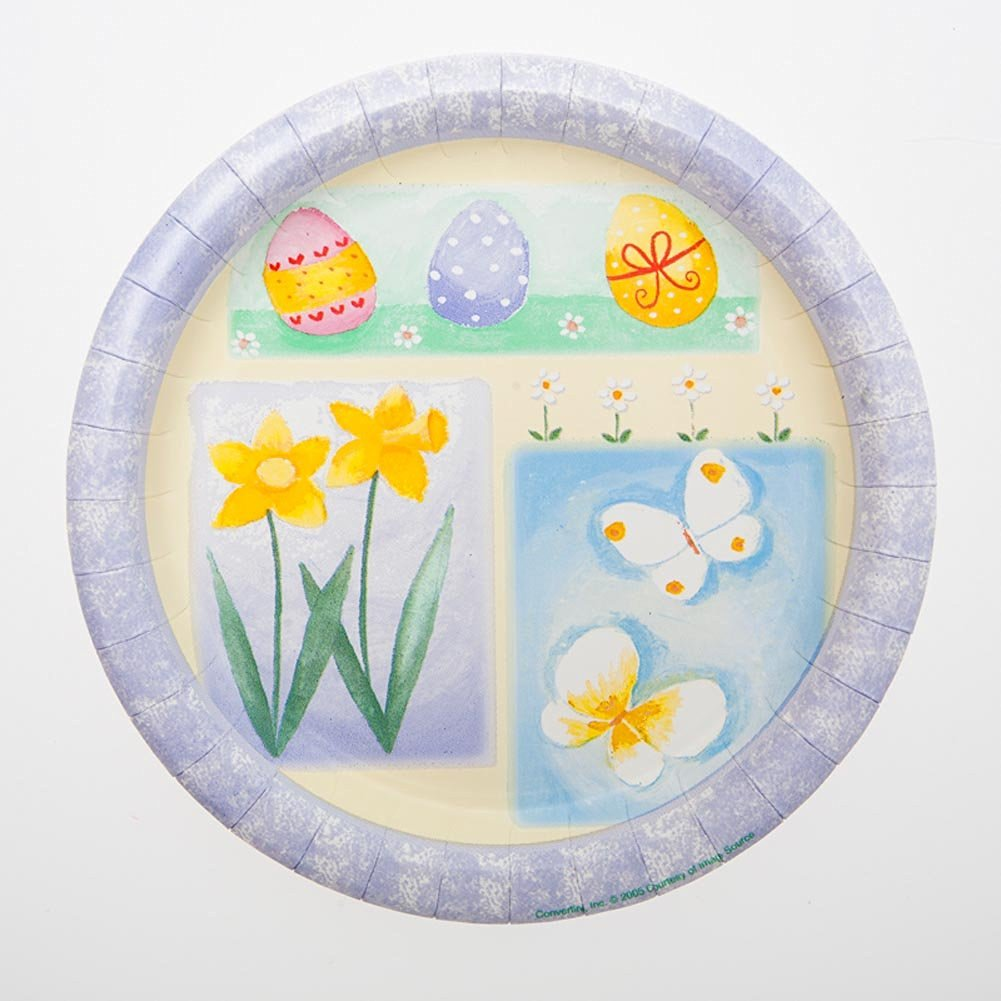 Get Quotations · Touches Of Easter 7  Plates & Cheap Easter Plates Dinnerware find Easter Plates Dinnerware deals ...