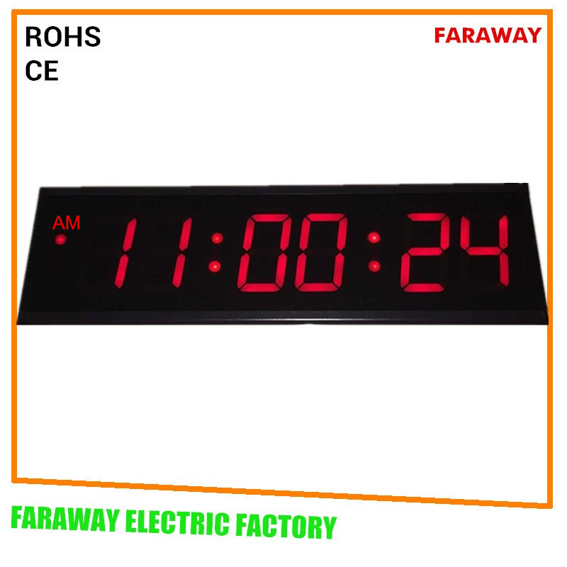Large Digital Wall Clock With Remote,Date,Moisture ...