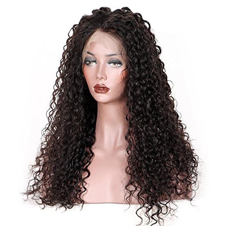 Kinky thẳng ren phía trước tóc giả tóc con người xoăn siêu mịn swiss ren tóc giả ánh sáng màu nâu của con người tóc ren phía trước tóc giả bán nhà sản xuất