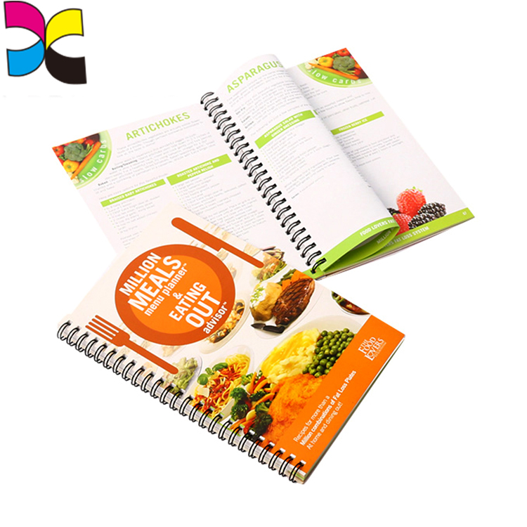 Customized printing book with Yo binding paper book wholesale wire spirial
