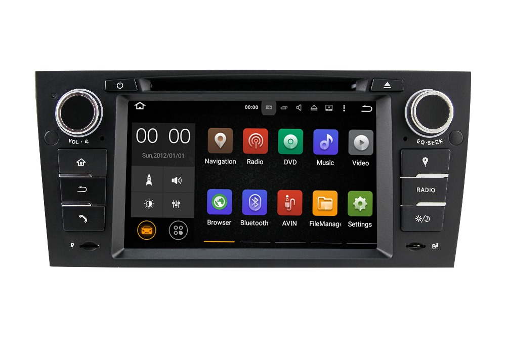 touch screen android auto radio gps car dvd 1 din universal android car dvd player with 1.6GHz CPU Radio GPS