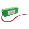 12V 2/3A 1600mAh Nimh battery pack used for RC airplane , with 18AWG silicon wire
