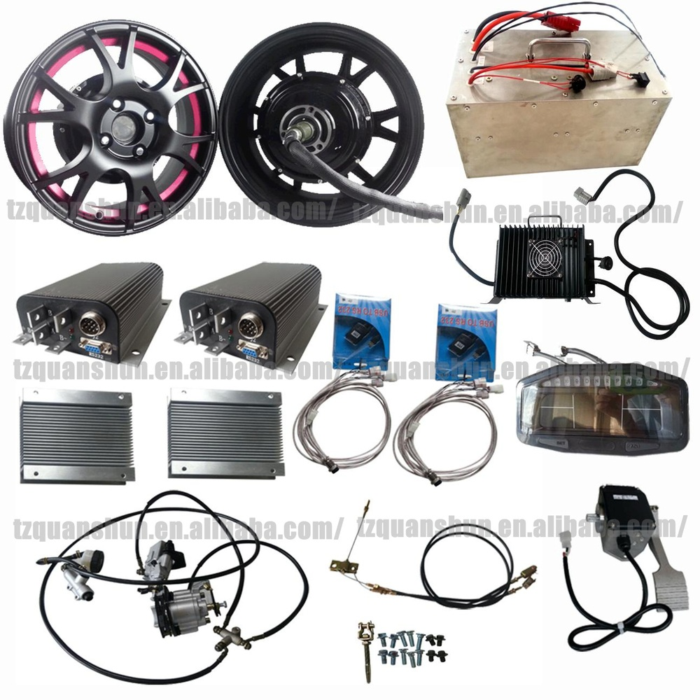 Dual 205 2kw Electric Car Hub Motor Kits 4kw Buy Dual 205 2kw