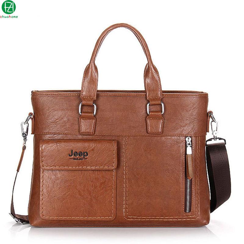 Get Quotations · brand leather men handbag high quality men briefcase  business casual men shoulder bag vintage solid men d91201d076