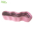 Pink Yoga Stretching Fitness Hip Resistance Firm Circle Loop Booty Non-slip Grips Hip Bands
