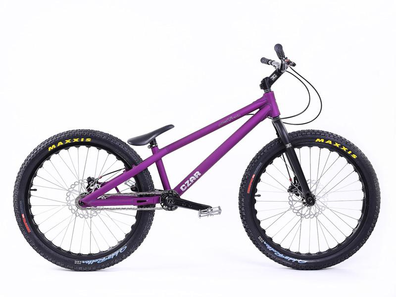 dual rim brake czar trials bike 24 street echo bicycle. Black Bedroom Furniture Sets. Home Design Ideas