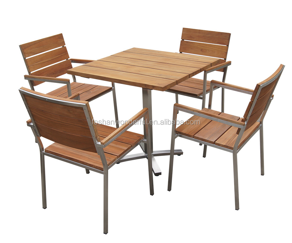 Venta al por mayor muebles exterior teca-Compre online los mejores ...