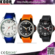Silicone Rubber Wristband Hot selling Curren Watch Men Gift Set