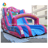 The lovely Mickey Mouse giant inflatable water slide,inflatable jumping park slide