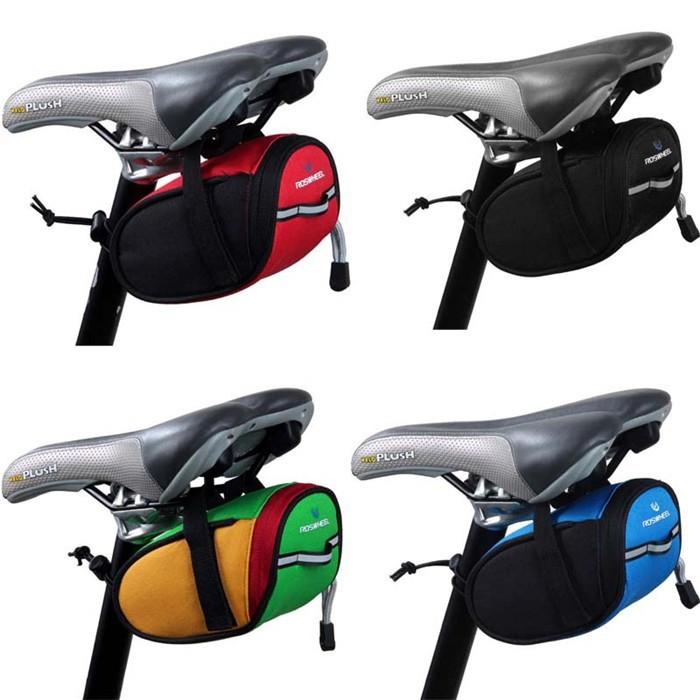 New Roswheel Mountain Bike Saddle Bag Pipe Bag Bicycle Front Tube ...