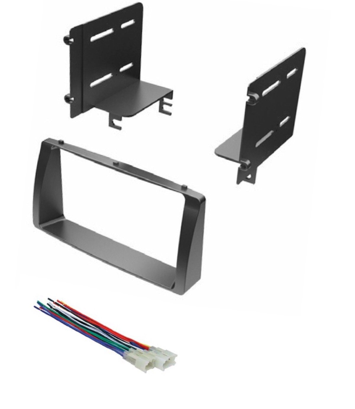 Cheap Corolla Double Din Find Deals On Line At Toyota Radio Wiring Harness Adapter Get Quotations Asc Car Stereo Dash Kit And Wire For Installing A 2003