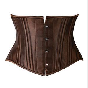 66715290769 Hot Products. walson Women s 26 Steel Boned Corset Short Torso Heavy Duty Waist  Trainer ...