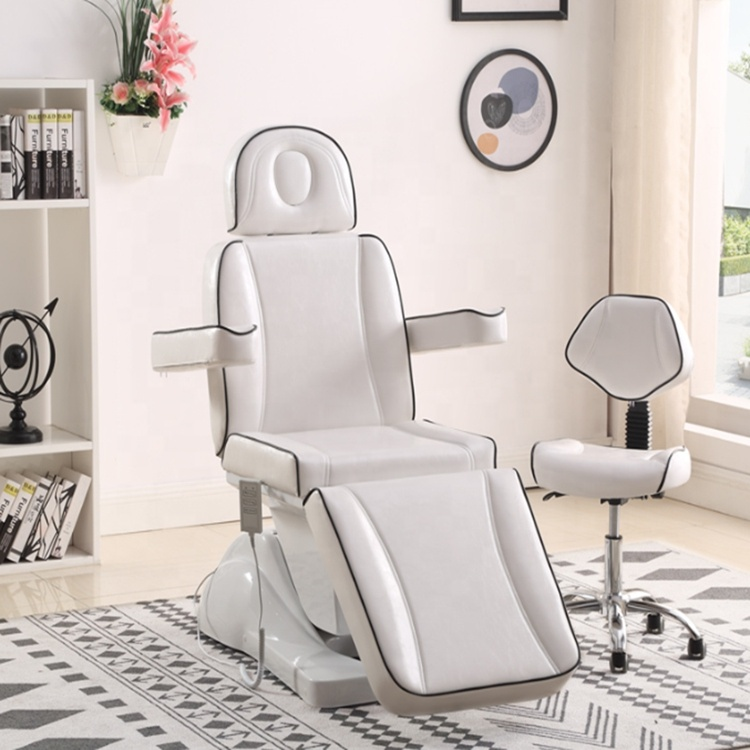 Multi Function  Rotating  Electric Beauty Facial Chair Beds And Massage Bed