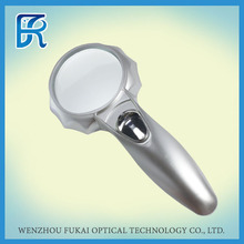 Plastic Magnifier With Glass Lens