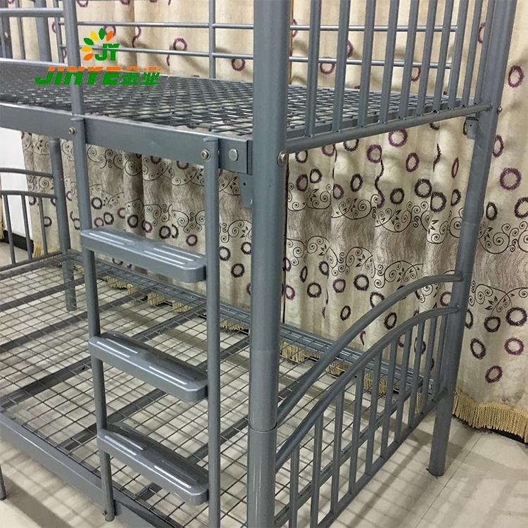 China cama litera de metal barato fácil montaje cama litera de metal ...