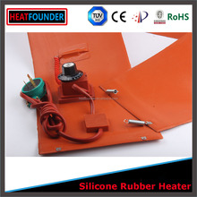 HEATFOUNDER Supplier direct sales 12v engine block heater silicon rubber heater