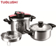 High quality and durable product pressure cooker stainless steel restaurant parts with Quality Assurance
