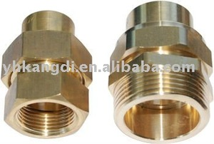 brass forged pipe fitting