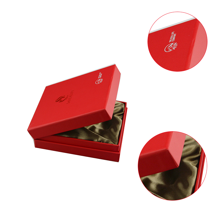 Luxury high end matte rectangle jewelry paper box make paper jewelry box