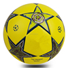 2016 Top design official size customized PU leather soccer ball