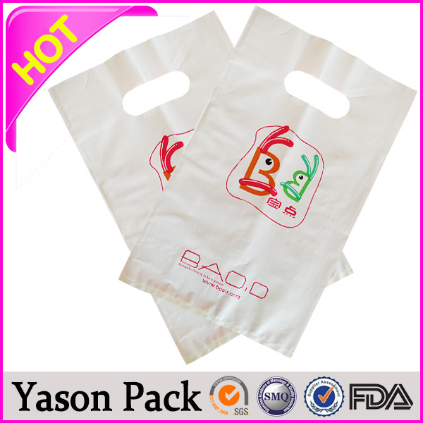 yason clear food vacuum plastic bags christmas shopping t-shirt plastic bag bopp header plastic bags