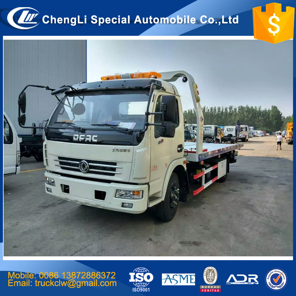 Cn 3ton Lowbed Car Carrier Road Wrecker Truck Bed Size 5600x2300mm 4 Ton 8  Ton 15 Ton Rescue Recovery Towing Vehicle Customized - Buy China Recovery