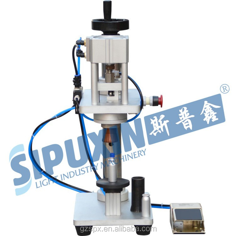 Good price Pneumatic perfume crimping machine