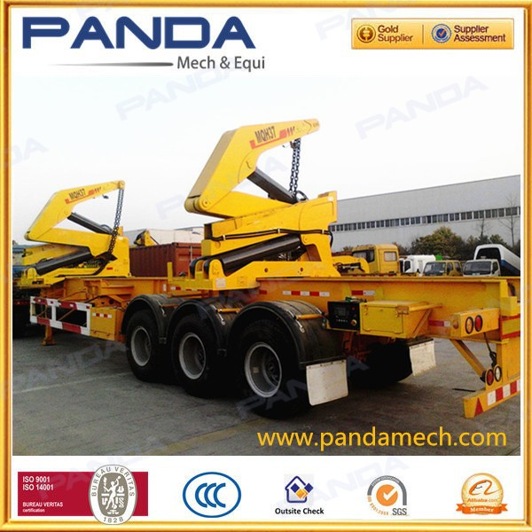 Pandamech Self Side Loading Container Semi Trailer,Swing Lift ...