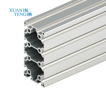 20x80 Extruded V-slot aluminum profile for tent 20x80 aluminium profile de aluminio 20*80 high quality 2080 v-slot rail aluminum