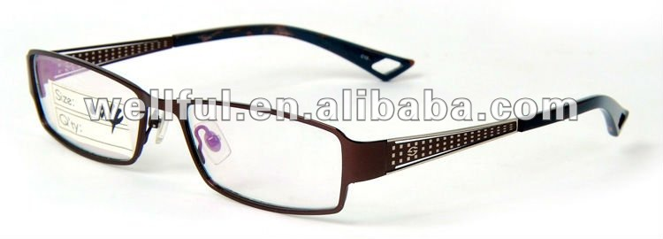 2013 fashion european designer eyewear, high quality stiamless optical frames