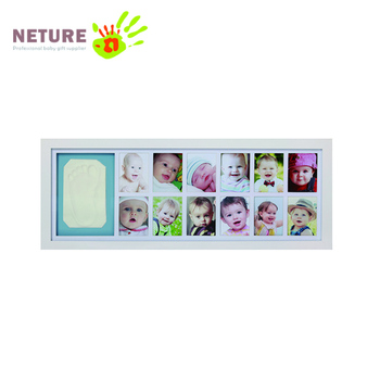 Super Light Clay 12 Month Baby Picture Frame Footprint Clay Buy