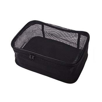 1cs0364 Assorted Size Cosmetics See Through Makeup Bag Sets Organizer Black Mesh Whole Bags View Bagtalk Product