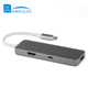 2018 High quality 4k HDMI video output 2 USB 3.0 Ports type c for macbook pro usb c hub