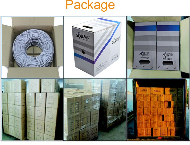 SIPU wholesale price supply cat cable 6 manufactures utp cat6 cable for network cable