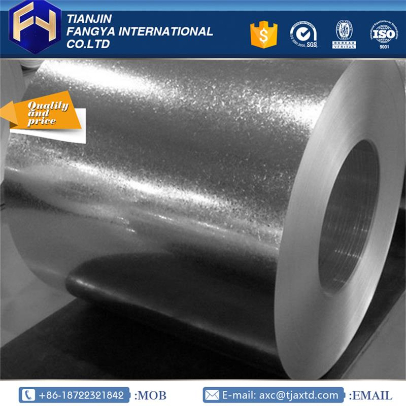 FACO Steel Group ! zero spangle galvanized coils hot galvanized steel strip with great price