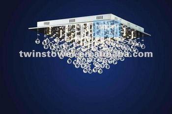 Plafoniere In Cristallo A Soffitto : Elegante cristallo goccia plafoniera lampadario piazza buy