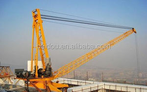 used derrick crane roof crane mini tower crane 500KG