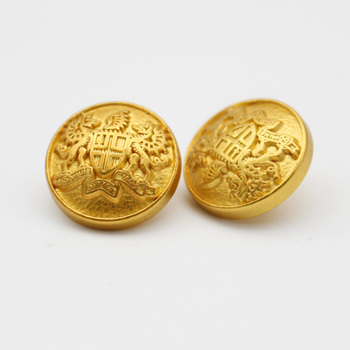 caf20c4ffe2 Fancy Lion Head Military Uniform Gold Coat Buttons - Buy Shiny Gold ...