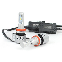 Perfect auro part supplier 12v-24v h8 h9 h11 led headlight conversion kit,white super brightness led car light