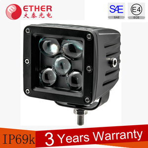 25w high bright 5d led work lights for trucks / tractor / jeep / offroad / 4wd