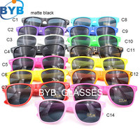 2140 two tone frame cheap custom logo promotion sunglasses uv400