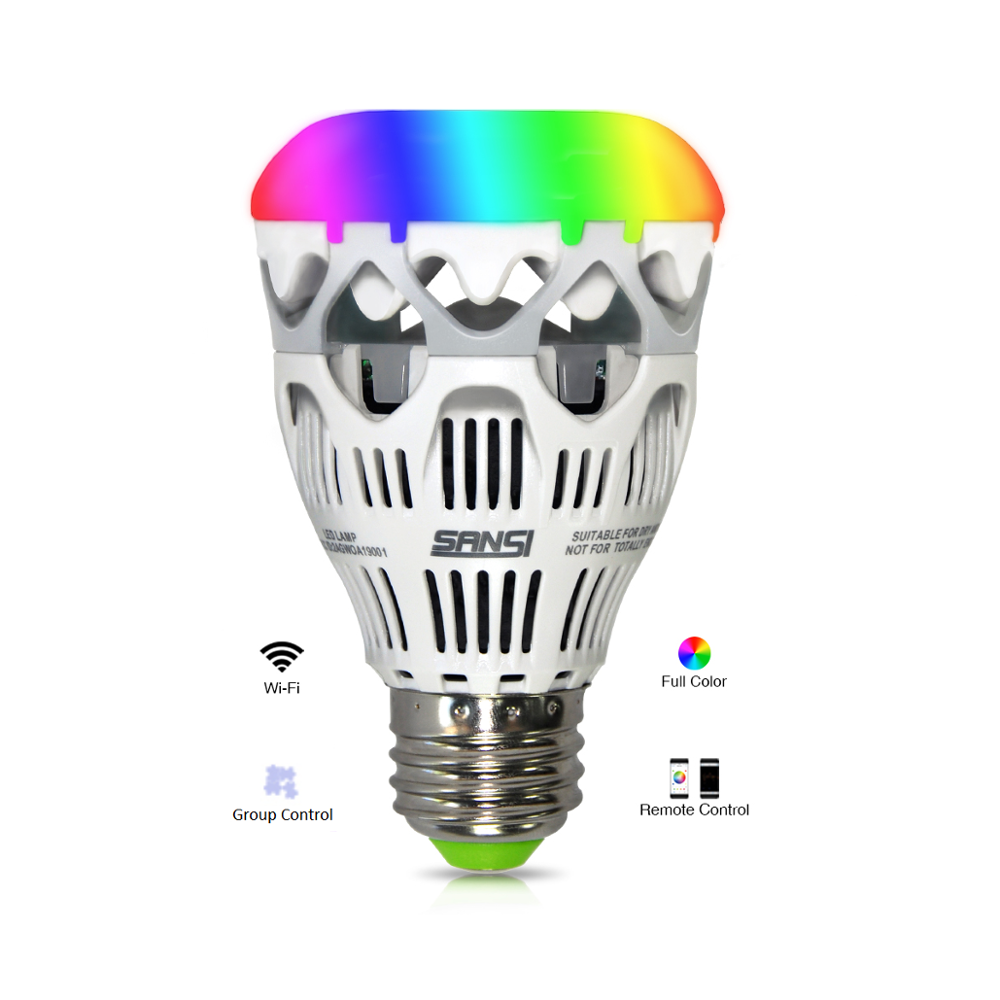 E27 10 w Full Color APP Afstandsbediening Smart Wifi RGB Licht Led Lamp